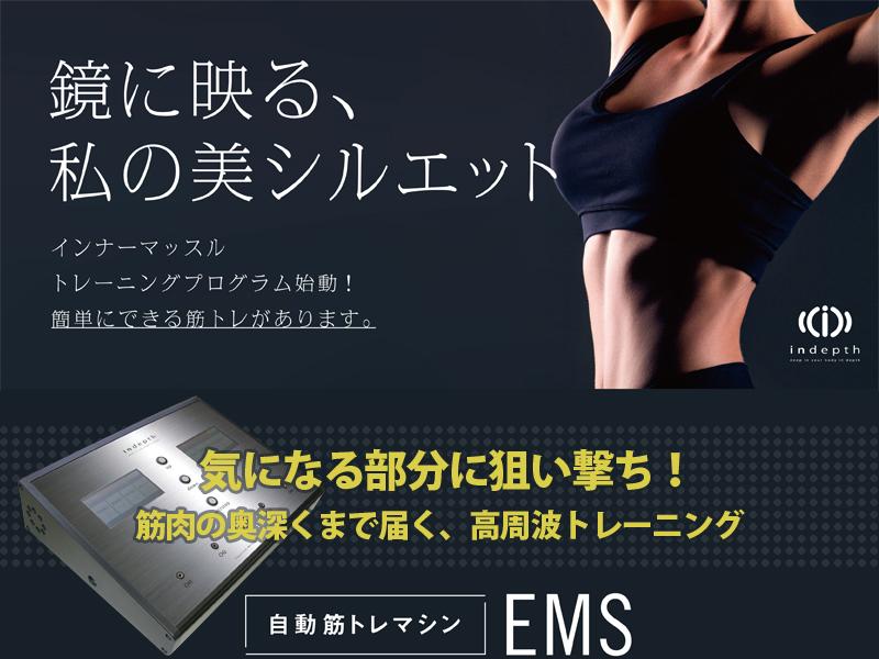 EMSインナーマッスルトレーニング